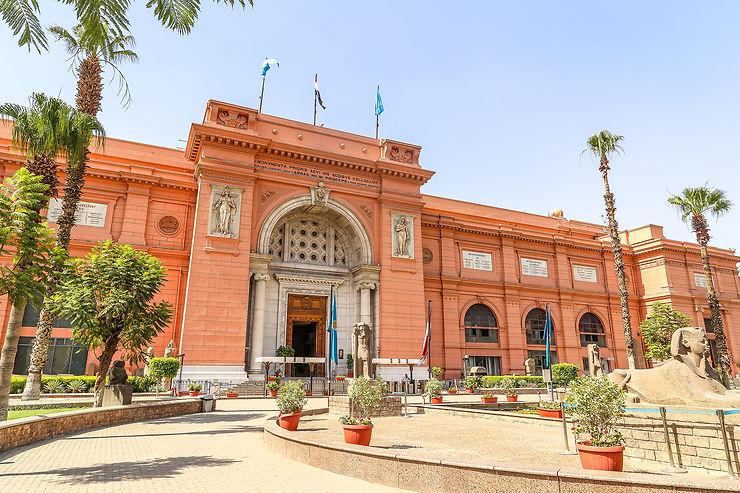 Le centre-ville du Caire