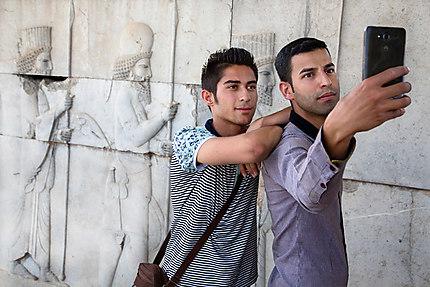 Selfie persan