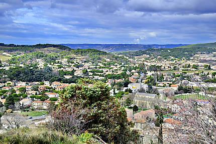 Vaison-la-Romaine vue depuis le chateau