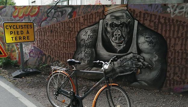 Cyclo-rando d'un week-end, de Paris au pays de Valois dust ombres