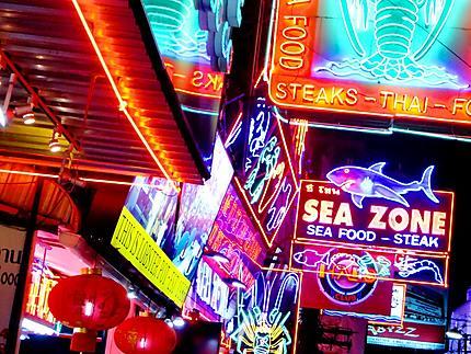 Nuit à Pattayenne...