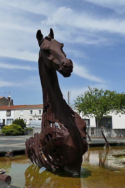 """Sculpture """"le Cheval"""""""