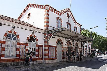 La jolie petite gare de Sintra