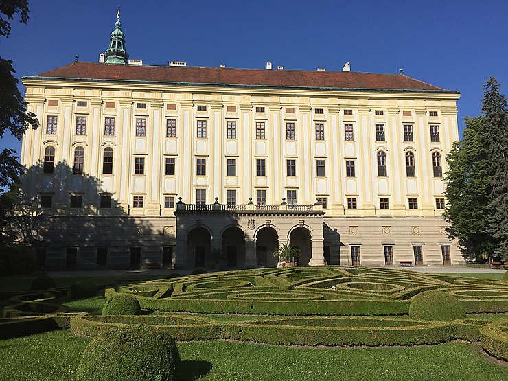 Au château de Kroměříž