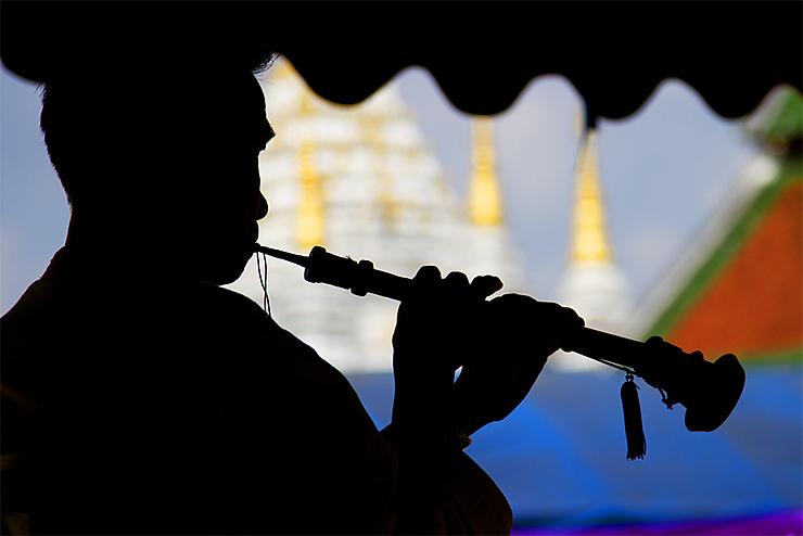 Musicien à Chiang Rai