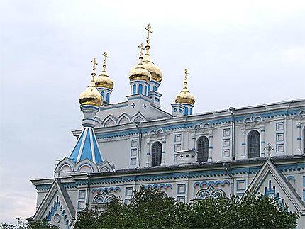 Eglise orthodoxe à Daugavpils