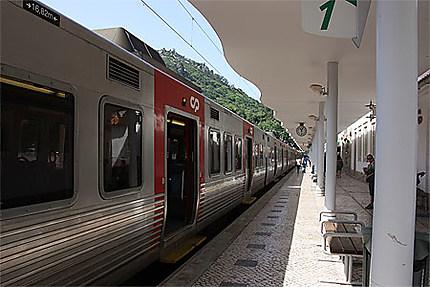Arrivée à la gare de Sintra