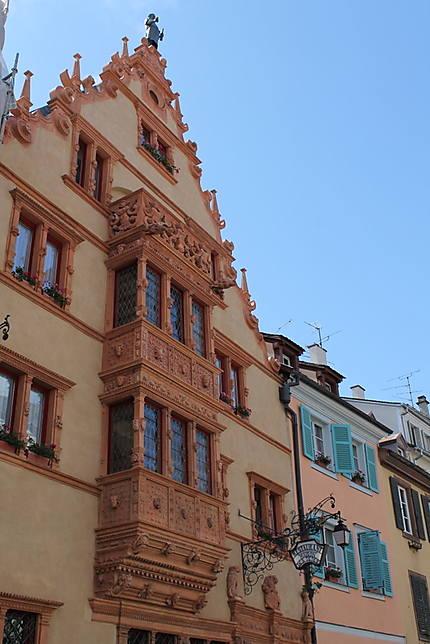 La Maison Des Tetes Maison Des Tetes Colmar Haut Rhin Alsace Routard Com