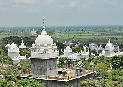 Temple jain à Sonagiri