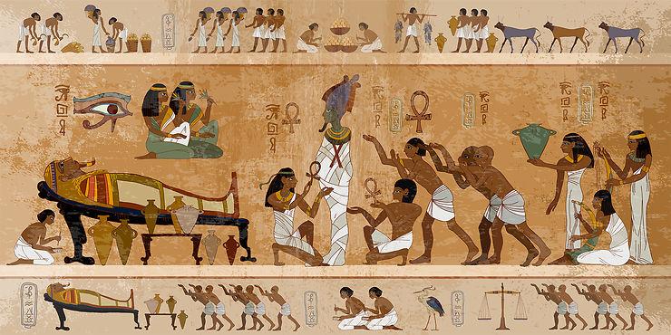À la vie, à la mort dans l'Égypte antique