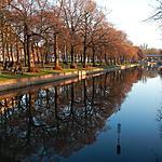 Réflexions dans le canal