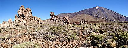 Roques de García et Pico del Teide
