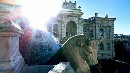 Fontaine du palais Longchamp