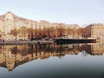 Canal de l'Ourcq (Quai de l'Oise)
