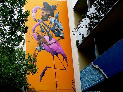 Fresque sur immeuble (Maye)
