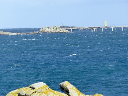Pointe de Perharidy et vue sur le Pont