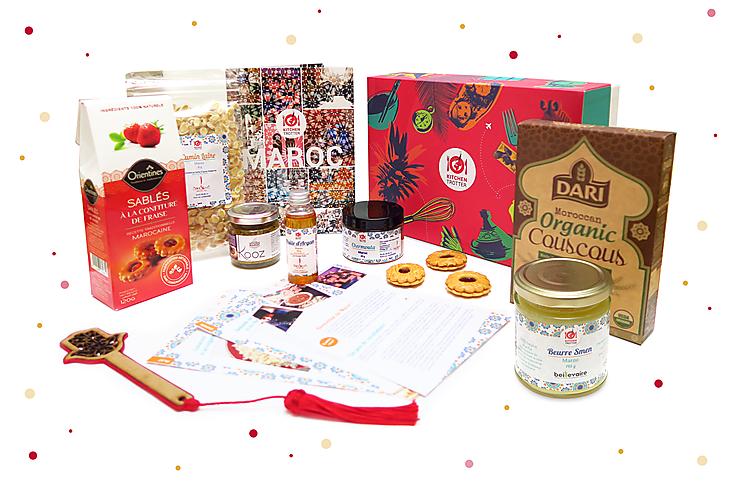 Idée cadeau - Kitchen Trotter, la box qui met le monde dans votre assiette