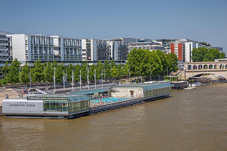 De la BNF Mitterrand à la gare d'Austerlitz  (13e arrondissement)