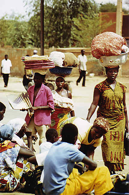 Dans les rues de Niamey