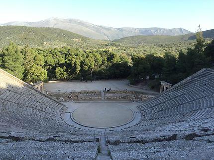 Quiétude à Epidaure