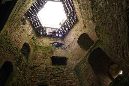 Donjon du château de Tonquédec
