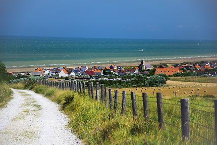 Village en bord de mer