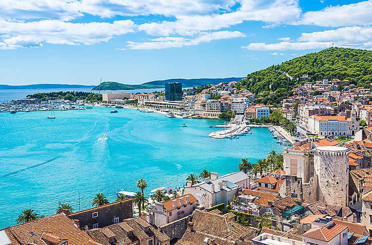 Split et l'île de Brač