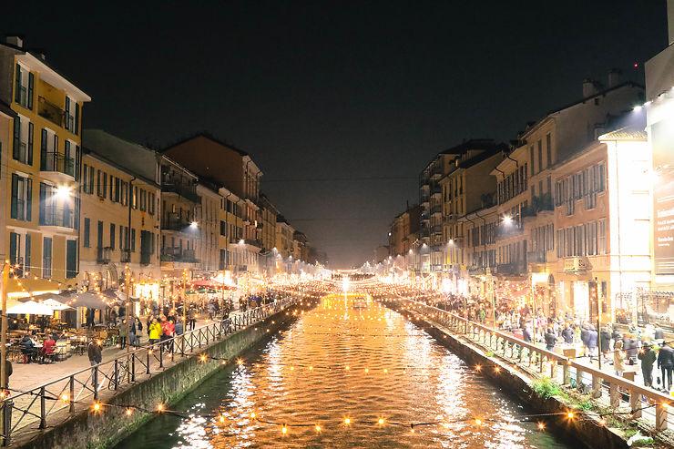Canaux de Milan, Italie
