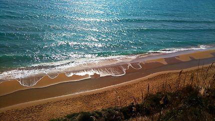 Superbe plage à Corfou