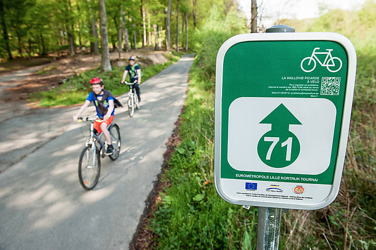 Belgique : la Wallonie à vélo