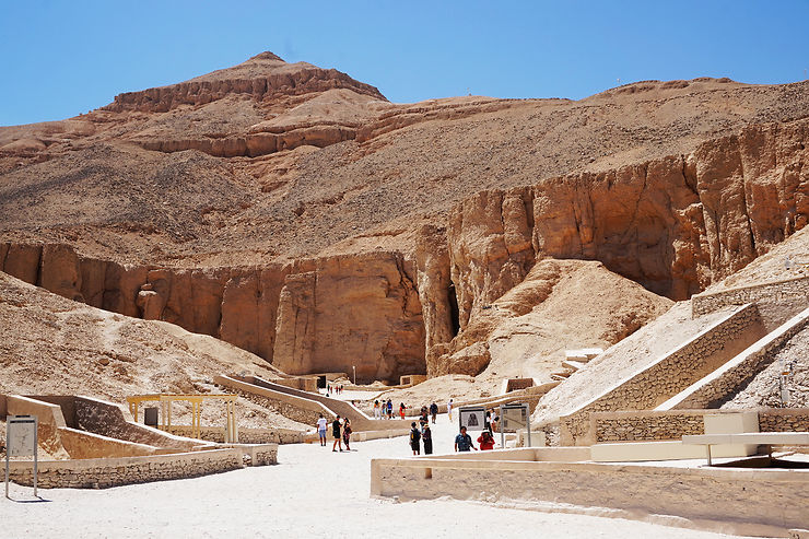 Les nécropoles thébaines : vallée des Rois, vallée des Reines