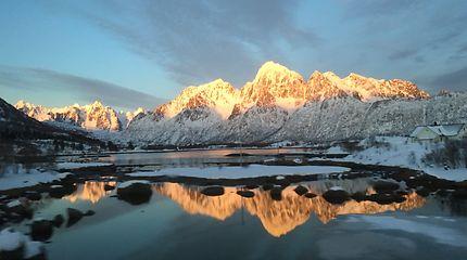 Exceptionnelle fin d'après midi au détour du fjord