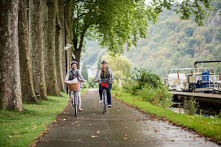 Visiter la Wallonie à vélo