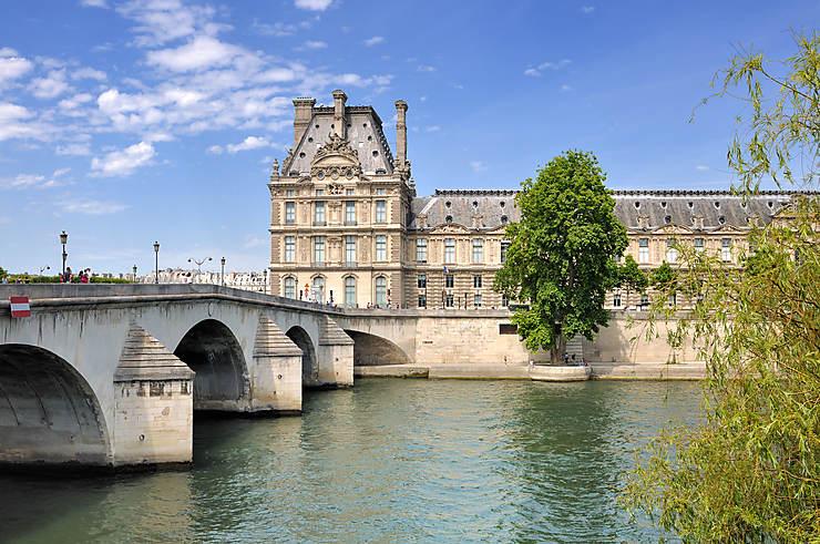 Le long du Louvre et des Tuileries (1er arrondissement)