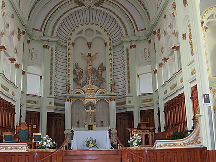 Intérieur de l'église de Cap-Chat