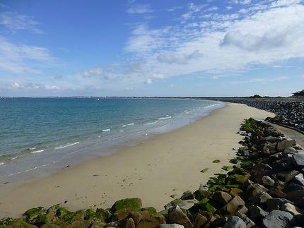Partie sud de la plage de Pen Bron, La Turballe