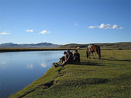 Sérénité mongole !
