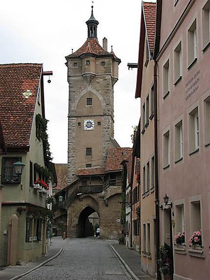 Une des nombreuses portes de Rothenburg