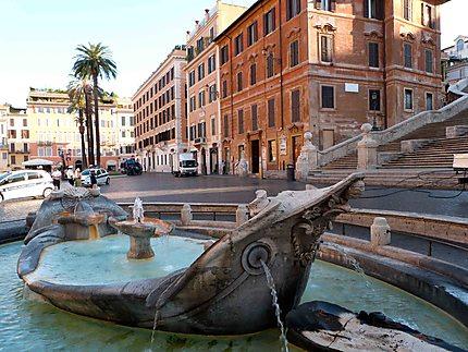 Fontaine sur la Place d'Espagne