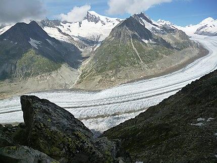 Le Glacier d'Aletsch, Valais, Suisse