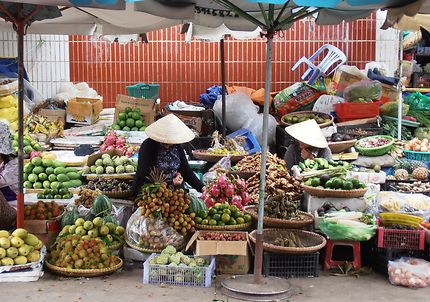 Marché à Dalat, Vietnam