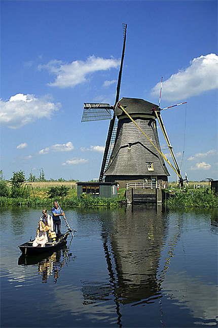 Moulin à vent, Kinderdijk, Pays-Bas