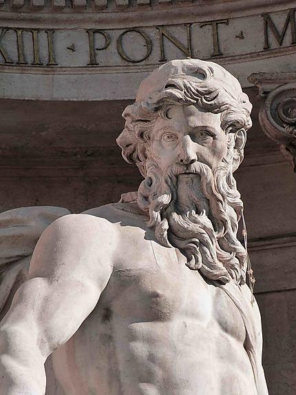 Statue de la Fontaine de Trévi