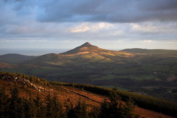 Monts Wicklow : dans la montagne irlandaise