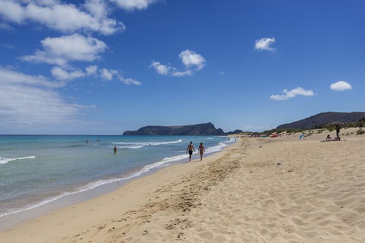 Praia Dourada à Porto Santo