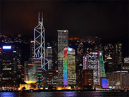 Les tours de Hong Kong