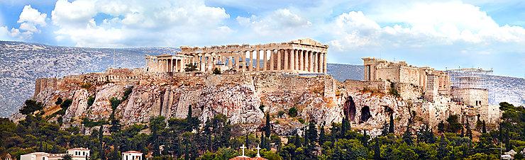 Athènes - Des travaux de restauration au Parthénon
