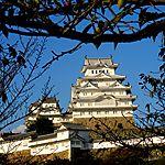 Le célèbre château d'Himéji