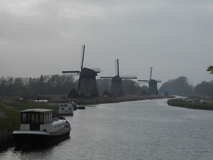 Batave road, Pays-Bas et ses moulins