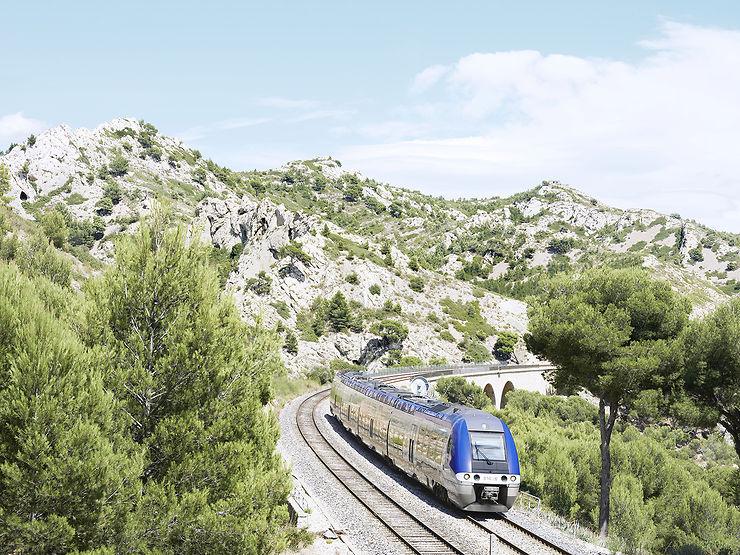 Le Train de la Côte bleue (Bouches-du-Rhône)